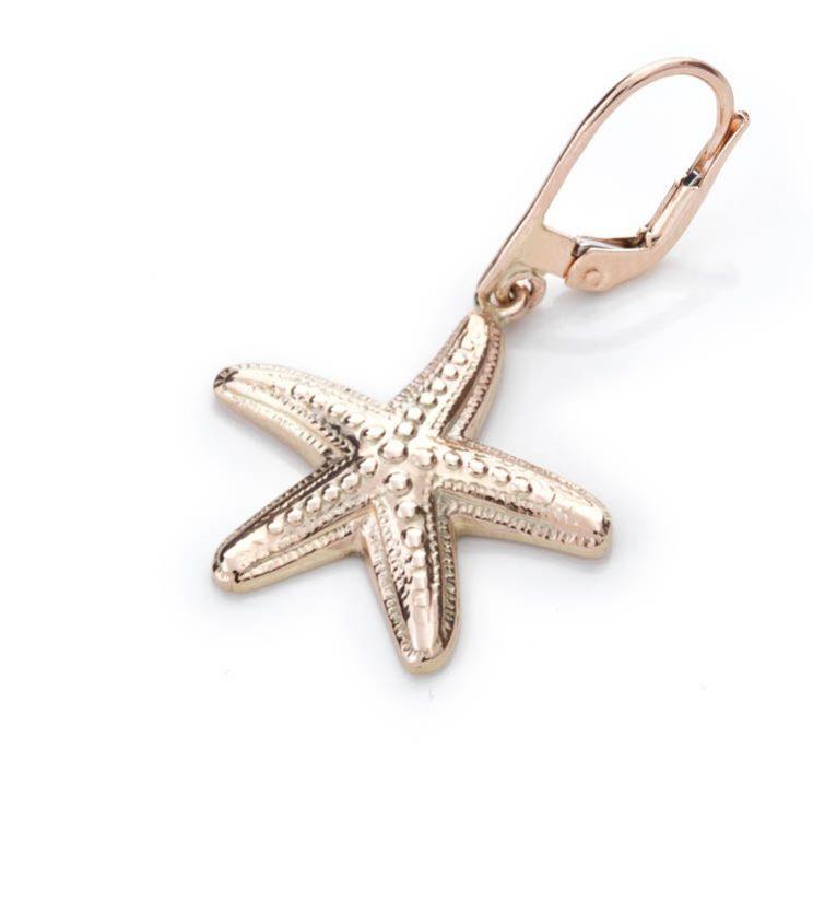 Mono Orecchino con stella marina