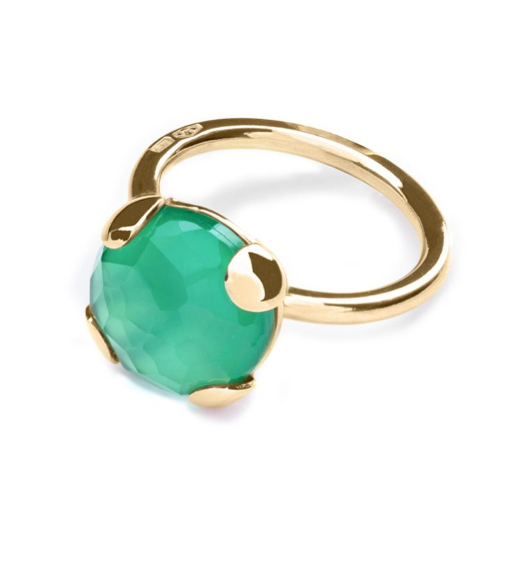 Anello Emerald Green 12 mm