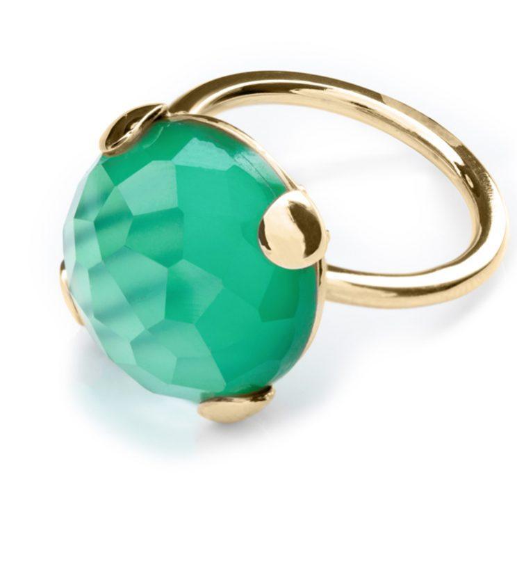 Anello Emerald Green 16 mm